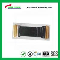 Sillkscreen Flexible PCB Fabrication , Mobile Phone PCB Board Black Solder Mask Manufactures