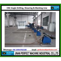 Quality CNC Angle Line for Drilling and Marking Line used in power transmission tower industry China TOP Supplier for sale