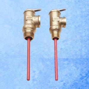 China Solar Water Heater Accessories Temperature / Pressure Relief Valve Different Pressure on sale