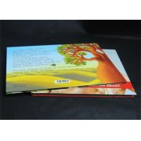 Full Color Glossy Paper Hardcover Book Printing Services , Offset Book Printing Manufactures