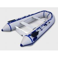 Rigid 3 Person Inflatable RIB Boats Inflatable River Boats With 3 Chamber Manufactures