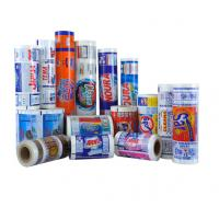 China Detergent Powder Plastic Laminating Roll Film , Packaging Roll Film Form Fill Seal Film Soap and Detergent on sale