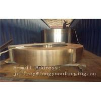 Hot Forged Rolled Rings / Stainless Steel Sleeve DIN Standard 1.4401 Manufactures