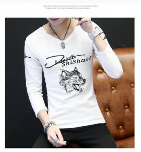 Custom Full Hand Designer Plain Mens Long Sleeve T shirt Manufactures