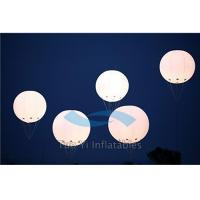LED Helium Filled Air Balloon Show Large Advertising Inflatables For Promotion Manufactures