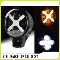 Buy cheap Alluminum Alloy 60W IP68 Round Style Amber / White / Green Jeep Wrangler from wholesalers