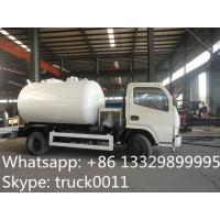 liquefied petroleum gas tank  truck for filling gas cylinder for sale, hot sale lpg gas propane dispensing truck Manufactures