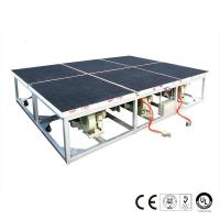 2600x2000mm Air Float Glass Breaking Table Pneumatic Control System Manufactures