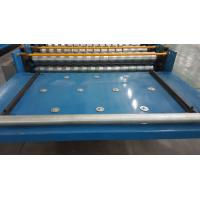 Automated Roofing Sheet Corrugated Roll Forming Machine / Glazed Roof Panel Making Machines Manufactures