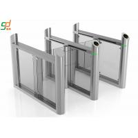 Fitness Center Supermarket Swing Barrier Gate Access Control System IP44 Manufactures