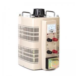 Single Phase AC 3kva Variac Analog Meter Display TDGC2-2 Voltage Regulator Manufactures