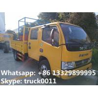 Quality DongFeng 4*2 LHD/RHD lifting high altitude operation truck for sale, best price for sale