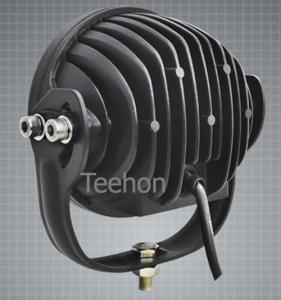 High power LED 45W 4D PC Len Round LED Driving Light (LED work light) Manufactures