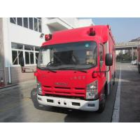 Quality Large Capacity Motorized Fire Truck ISUZU Gas Supply ISO9001 Certificated for sale