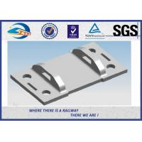 High Tensile Strength Plain Railroad Tie Plates as Track Fasteners Manufactures