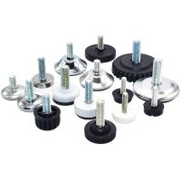 Adjustable Glides Feet for Plastic Furniture chair Leg Manufactures