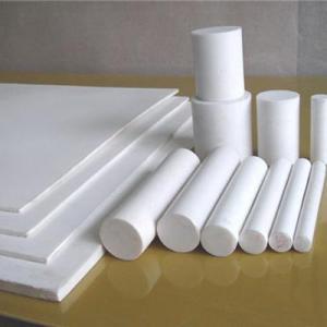 China Non Stick PTFE Teflon Rod Molded Customized Size Corrosion Prevention on sale