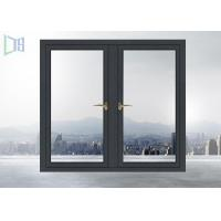 Air Proof Residential Aluminum Windows , Aluminum Sliding Windows With Grids Manufactures