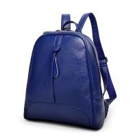 Buy cheap Double Zipper Fashion Ladies Backpack With Waterproof Leather / Reinforce Shoulder Straps from wholesalers