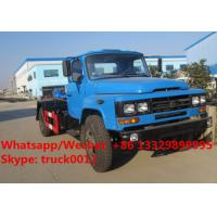 Quality Factory sale dongfeng long nose 6m3 hook lift garbage truck, wholesale lower price dongfeng hook wastes container truck for sale