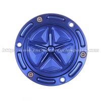 Anodized Custom Motorcycle Gas Cap Covers / Motorcycle Fuel Tank Cap Manufactures