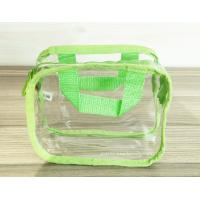 Simple Girl Transparent PVC Cosmetic Bags Clear Vinyl Travel Kit Manufactures