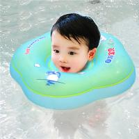 China Infant Swim Ring Kids Swimming Pool Accessories Circle Bathing Float Inflatable Raft Neck Rings on sale
