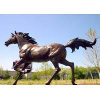 Casting Finish Life Size Large Running Bronze Horse Sculpture Manufactures
