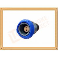 Push Pull 2 Pin Circular Connector Self Locking / Double Reed Locked Manufactures