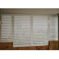 Quality Commerical Building Aluminum Home Window Shutters CE Certificate for sale