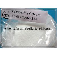 Tamoxifen Citrate Anti Estrogen Steroids CAS 54965-24-1 Nolvadex for Breast Cancer Treatment Manufactures