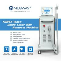 Nubway hot sale 808nm 1064nm 755nm laser hair removal machine 800W Germany imported bars laser diode 808 hair removal Manufactures