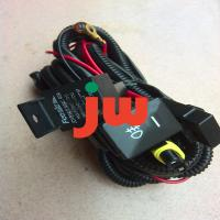 Quality Black Car Audio Wiring Harness , 12V 24V Bmw Aftermarket Stereo Wiring Harness for sale