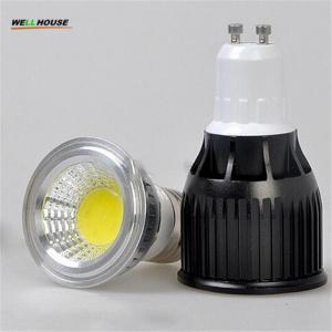 3W 5W 7W 9W 10 12W 15W 20W COB Dimmable Gu10 LED spotlight bulb E27 E14 Gu5.3 AC85-265V 220V 110V DC12V LED Dimmable spo Manufactures