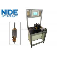 Upgraded version high efficiency customized motor armature balancing equipment rotor testing machine Manufactures