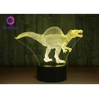 RGB 3D Dinosaur Night Light Touch Screen Spinosaurus Thanksgiving Gifts Manufactures