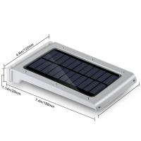 25 LED Security Wireless Motion Sensor Solar Light for Street , Super Bright Manufactures