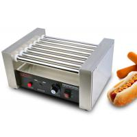 Hot Dog Roller Grill Electric Snack Bar Equipment  7 Rollers Manufactures