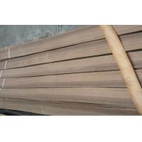 Natural Walnut Wood Veneer Sheet For Cabinets ,  0.5mm thickness Manufactures