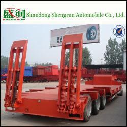 Shengrun Barnd 3 Axles Low Bed Semitrailer for Kazakhstan Manufactures