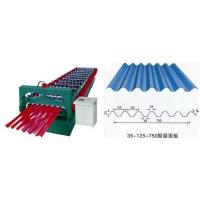 Quality Industrial Steel Roof Tile Roll Forming Machine With Automatic SAJ Inverter for sale