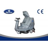 Warehouse Durable Ride On Floor Cleaning Machines Energy Saving 24V Manufactures