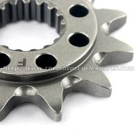 Quality 20CrMnTi Steel Dirt Bike Front Sprocket for sale