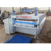 Quality Double Layer Roll Forming Machine , Metal Roofing Corrugated Steel Sheet Wall Panel Tile Making Machine for sale