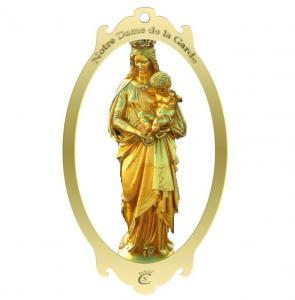 China Madonna metal bookmark, brass bookmark,bookmark with logo on sale