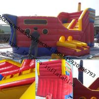 china bouncy castles pirate ship bouncy castle Manufactures