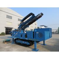 China Big Torque Rotary Drilling Rig , High Rotary Speed Ground Drilling Machine Crawler Mounted MDL - C160 on sale