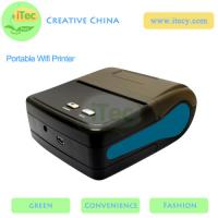 China 58mm Portable Wifi Thermal Receipt Mini Wireless Printer with usb android portable printer on sale