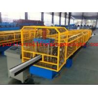High Strength Gutter Cold Roll Forming Line Seamless Gutter Machine , Downspout Machine Manufactures