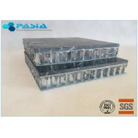 Fuding Black Basalt Type Honeycomb Stone Panels With Edge Open Flamed Surface Manufactures